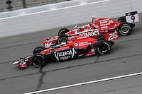 Marco Andretti, Road Runner Turbo Indy 300, Kansas Speedway, Kansas City, KS USA  5/1/2010