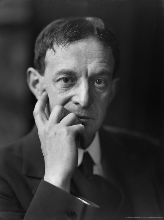 Walter de la Mare, English Author and Poet, 1920