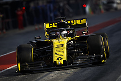 February 21, 2019 - Barcelona Barcelona, Espagne Spain - RICCIARDO Daniel (aus), Renault Sport F1 Team RS19, action during Formula 1 winter tests from February 18 to 21, 2019 at Barcelona, Spain - Photo  Motorsports: FIA Formula One World Championship 2019, Test in Barcelona, (Credit Image: © Hoch Zwei via ZUMA Wire)