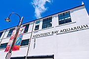 The Monterey Bay Aquarium, Monterey, California USA