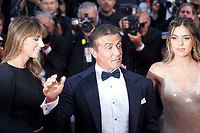 Sistine Rose Stallone, Sylvester Stallone and Jennifer Flavin at the closing ceremony and The Specials film gala screening at the 72nd Cannes Film Festival Saturday 25th May 2019, Cannes, France. Photo credit: Doreen Kennedy
