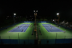 Court 1 and Court 2 at 1st Round of Banka Koper Slovenia Open 2008, on July 21, 2008, Portoroz - Portorose, Slovenia. (Photo by Vid Ponikvar / Sportal Images)...