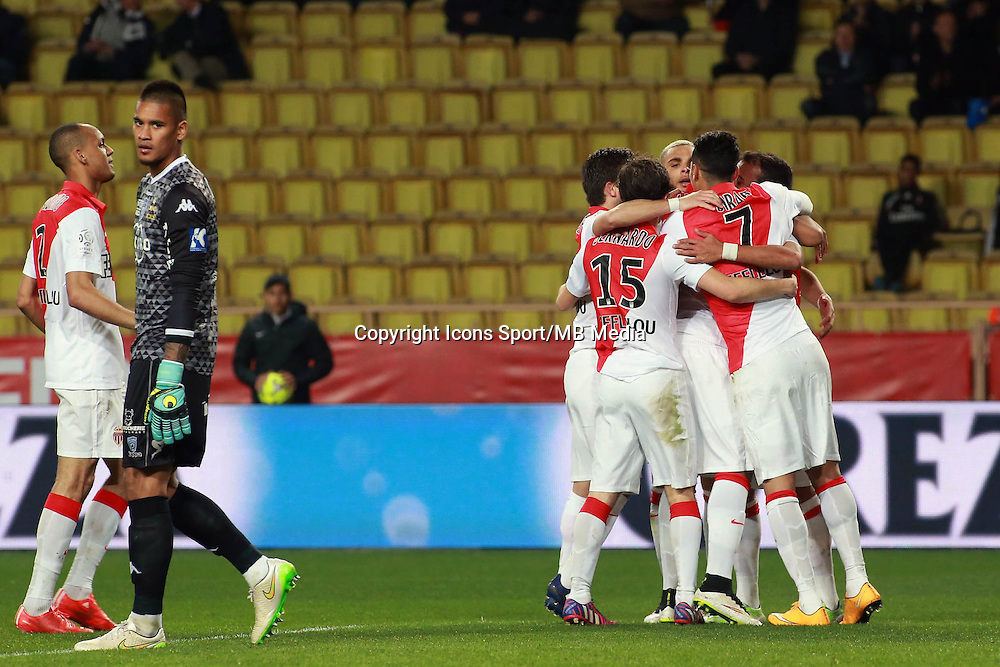 JOIE MONACO / Anthony MARTIAL  - 13.03.2015 -   Monaco / Bastia -  29eme journee de Ligue 1 <br />