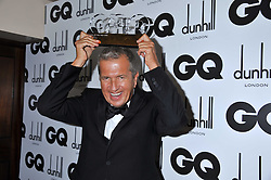 Inspiration Award Winner MARIO TESTINO at the GQ Men of the Year 2011 Awards dinner held at The Royal Opera House, Covent Garden, London on 6th September 2011.