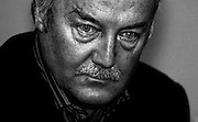 George Galloway (b 16 August 1954, Dundee), British politician, author and talk show host. He has been a Member of Parliament (MP) since 1987 and  represents the Respect Party for the Bethnal Green and Bow constituency. He was previously a Labour Party MP for Glasgow Hillhead and for Glasgow Kelvin.<br /> Copyrighted work. Permission must be sought before use of this image. Alex Ekins. +44 (0)114 2630277. +44 (0) 7901883 994