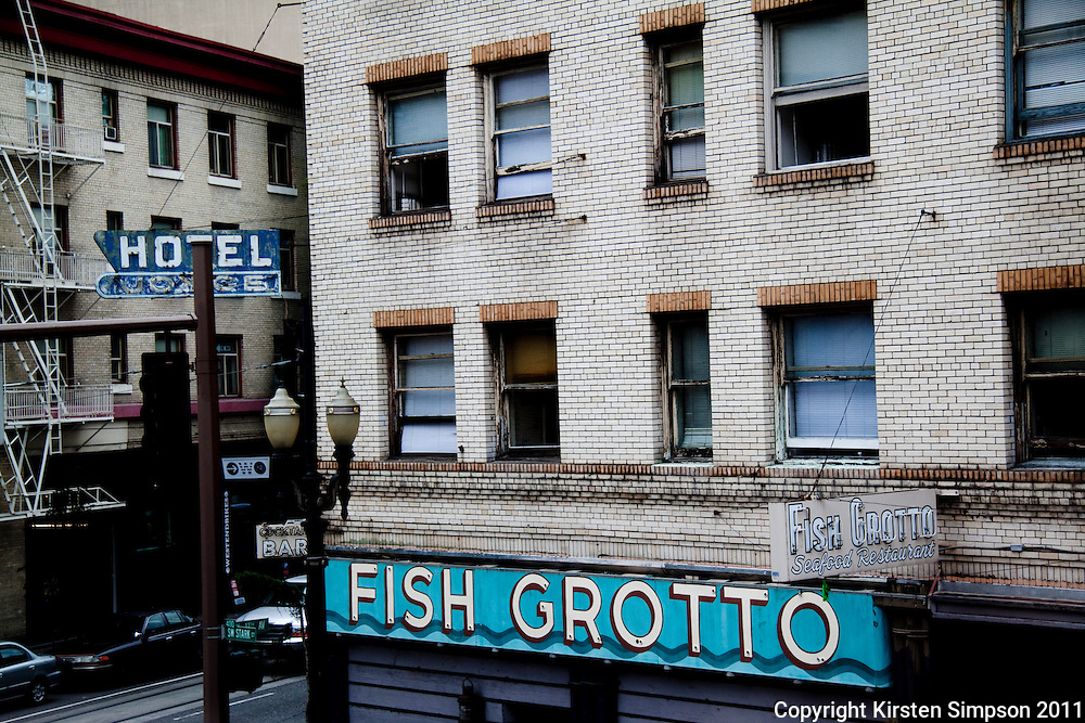 The Fish Grotto in Portland