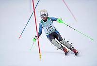 Proctor Academy's New Year's Eve FIS Slalom at Blackwater Ski Area Andover, NH December 31, 2013.  ©2013 Karen Bobotas Photographer