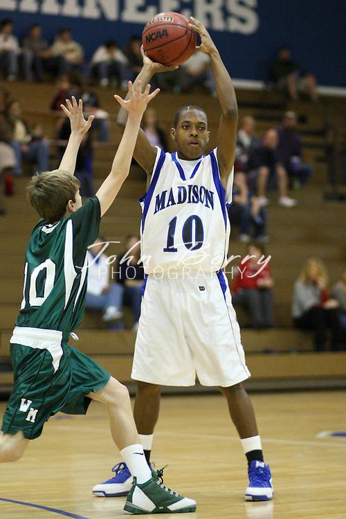MCHS JV Boys Basketball .vs Wilson Memorial .12/17/2008