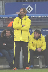 Football: Germany, 1. Bundesliga, Hamburg, 16.02.2014<br />