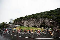 Peloton near Solkan during 4th Stage of 26th Tour of Slovenia 2019 cycling race between Nova Gorica and Ajdovscina (153,9 km), on June 22, 2019 in Slovenia. Photo by Vid Ponikvar / Sportida