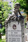 Bellu Orthodox Cemetery, Bucharest, Romania
