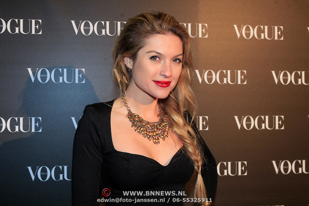 NLD/Amsterdam/20130314 - 1 jarig bestaan magazine Voque Nederland , Lauren Verster