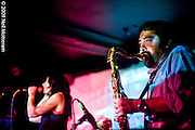 The last night of Loquat's May residency at Cafe Du Nord in San Francisco. The May 28th show included an appearance by The Aerosol's Raul Sanchez on saxaphone