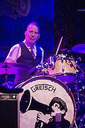 The Mavericks performing at Old Settler's Music Festival, Austin, Texas, April 17, 2015.
