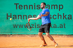 Aljaz Kos at Recreational-veteran national championship of Slovenia at ATP Challenger Zavarovalnica Sava Slovenia Open 2018, on August 4, 2018 in Sports centre, Portoroz/Portorose, Slovenia. Photo by Urban Urbanc / Sportida