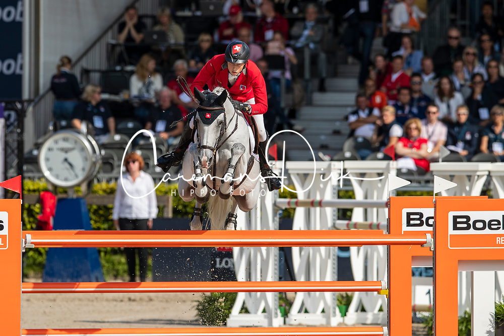 Fuchs Martin, SUI, Clooney 51<br /> European Championship Jumping<br /> Rotterdam 2019<br /> © Dirk Caremans<br /> Fuchs Martin, SUI, Clooney 51