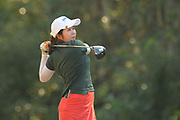 Hyemin Kim during the second round of the Symetra Tour's Florida's Natural Charity Classic at the Country Club of Winter Haven on March 11, 2017 in Winter Haven, Florida.<br /> <br /> ©2017 Scott Miller
