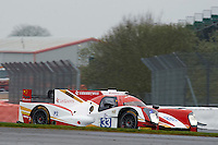 Nick de Bruijn (NLD) / Tristan Gommendy (FRA ) / Pu Jun Jin (CHN)  #33 Eurasia Motorsport, Oreca 05, Nissan VK45DE 4.5 L V8, during Free Practice 1  as part of the ELMS 4 Hours of Silverstone 2016 at Silverstone, Towcester, Northamptonshire, United Kingdom. April 15 2016. World Copyright Peter Taylor. Copy of publication required for printed pictures.