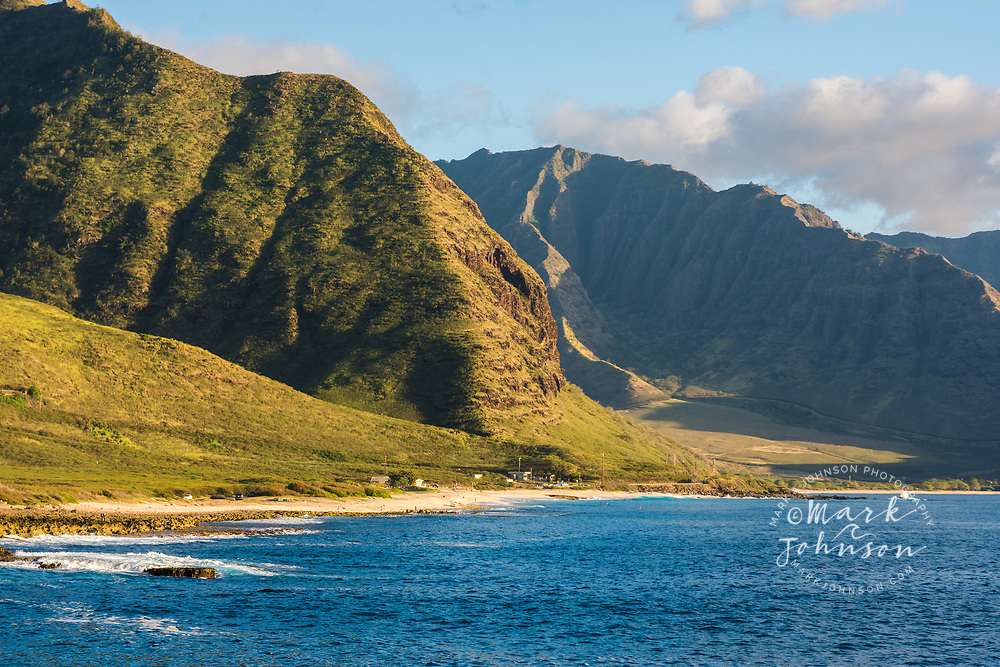 Keawa'ula Beach, Yokohama Bay, West Oahu, Hawaii