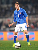 Fussball International, Nationalmannschaft   EURO 2012 Play Off, Qualifikation, Italien - Uruguay      15.11.2011 Claudio Marchisio (Italien)