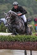 AMSTERDAM II ridden by Jesse Campbell (New Zealand) at Bramham International Horse Trials 2016 at  at Bramham Park, Bramham, United Kingdom on 11 June 2016. Photo by Mark P Doherty.