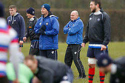 Bristol Director of Rugby Andy Robinson oversees training - Photo mandatory by-line: Rogan Thomson/JMP - 07966 386802 - 13/02/2015 - SPORT - RUGBY UNION - Bristol, England - Bristol Rugby Club Training Ground, Station Road, Henbury - Training Session.