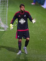 Goalkeeper Kristoffer Nordfeldt of Swansea City