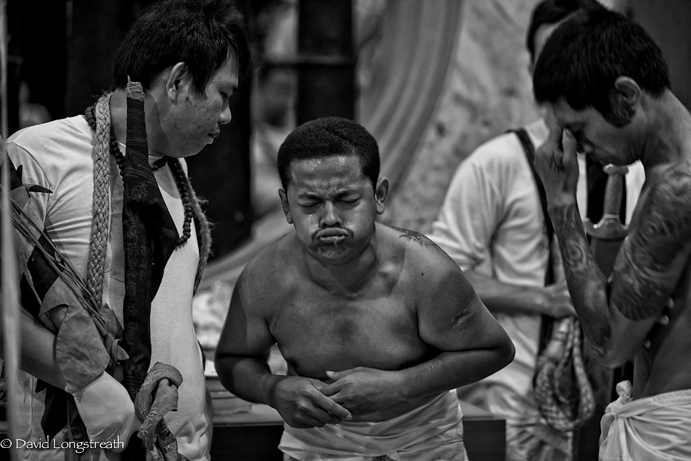scenes from the the 2011 Vegetarian Festival in Phuket, Thailand.  Photos by David Longstreath