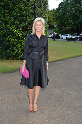 CROWN PRINCESS MARIE CHANTAL OF GREECE at The Ralph Lauren & Vogue Wimbledon Summer Cocktail Party at The Orangery, Kensington Palace, London on 22nd June 2015.  The event is to celebrate ten years of Ralph Lauren as official outfitter to the Championships, Wimbledon.