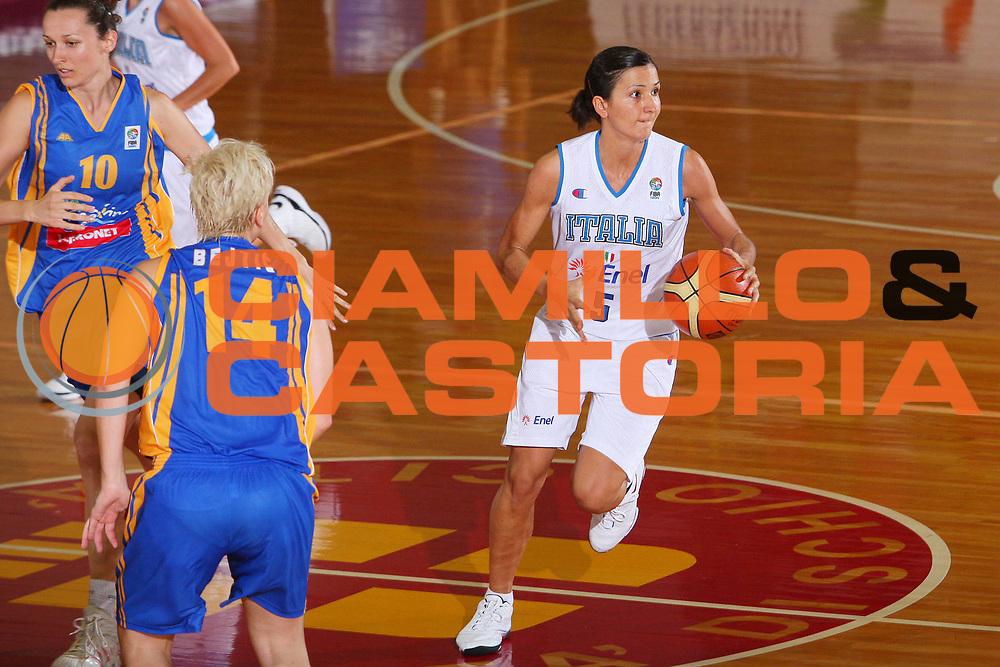 DESCRIZIONE : Schio Qualificazione Eurobasket Women 2009 Italia Bosnia <br /> GIOCATORE : Maria Chiara Franchini <br /> SQUADRA : Nazionale Italia Donne <br /> EVENTO : Raduno Collegiale Nazionale Femminile <br /> GARA : Italia Bosnia Italy Bosnia <br /> DATA : 06/09/2008 <br /> CATEGORIA : Palleggio <br /> SPORT : Pallacanestro <br /> AUTORE : Agenzia Ciamillo-Castoria/S.Silvestri <br /> Galleria : Fip Nazionali 2008 <br /> Fotonotizia : Schio Qualificazione Eurobasket Women 2009 Italia Bosnia <br /> Predefinita :