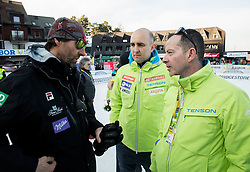Andrea Massi, Jozko Krizan and Enzo Smrekar during the 2nd Run of the 7th Ladies' Giant slalom at 52nd Golden Fox - Maribor of Audi FIS Ski World Cup 2015/16, on January 30, 2016 in Pohorje, Maribor, Slovenia. Photo by Vid Ponikvar / Sportida