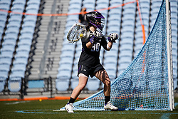 CHAPEL HILL, NC - MARCH 02: Julie Krupnick #30 of the Northwestern Wildcats during a game against the North Carolina Tar Heels on March 02, 2019 at the UNC Lacrosse and Soccer Stadium in Chapel Hill, North Carolina. North Carolina won 11-21. (Photo by Peyton Williams/US Lacrosse)