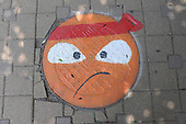 Manhole Cover Paintings