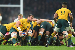November 18, 2017 - London, England, United Kingdom - Australias Sean McMahon from the base of the scrum during Old Mutual Wealth Series between England against Argentina at Twickenham stadium , London on 11 Nov 2017  (Credit Image: © Kieran Galvin/NurPhoto via ZUMA Press)