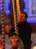 gary barlow at a fair ground in central london.15.12.06<br /> pix