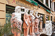 Antique store, Madrid, Spain