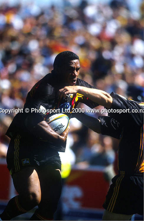 Chiefs Isitola Maka, Super 12, Rugby Union, 2000. Photo: PHOTOSPORT