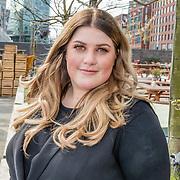 NLD/Amsterdam//20170419 - Castpresentatie film Gek op Oranje, Esmee van Kampen