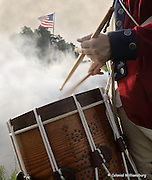 Colonial Williamsburg's Fife & Drum Corps. Shot at Yorktown Battlefield.