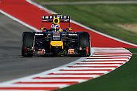 Daniel Ricciardo (AUS) Red Bull Racing RB10.<br /> United States Grand Prix, Friday 31st October 2014. Circuit of the Americas, Austin, Texas, USA.