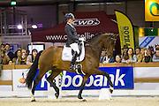 Lisanne der Nederlanden - Dion Johnson DVB<br /> Indoor Brabant 2015<br /> © DigiShots