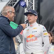 NLD/Zandvoort/20180520 - Jumbo Race dagen 2018, Max Vertappen en Olav Mol