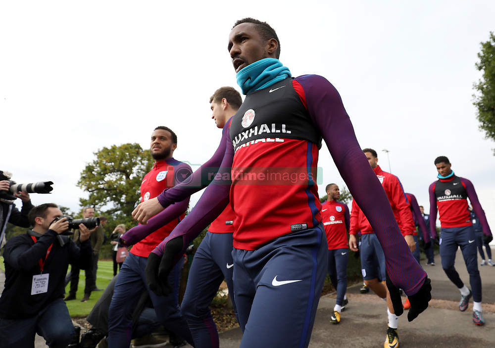 England's Jermain Defoe during the training session at Enfield Training Centre, London.