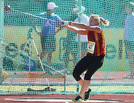 PORT ELIZABETH, SOUTH AFRICA, Friday 13 April 2012, Chante Loots in the women's hammer throw during the Yellow Pages South African Senior and Combined Events Championships held at the Xerox Nelson Mandela Metropolitan University, Nelson Mandela Bay..Photo by Roger Sedres/Image SA/ASA