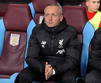 Football - 2019 / 2020 EFL Carabao (League) Cup - Quarter-Final: Aston Villa vs. Liverpool<br /> <br /> Liverpool manager for the night - Neil Critchley, at Villa Park.<br /> <br /> COLORSPORT/ANDREW COWIE