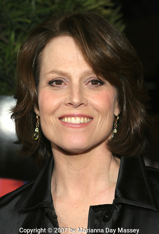 Mar 27, 2007 - Los Angeles, CA, USA - Actress SIGOURNEY WEAVER arrives at the premiere of 'The TV Set' at the Crest Theater in Los Angeles..(Credit Image: © Marianna Day Massey/ZUMA Press)