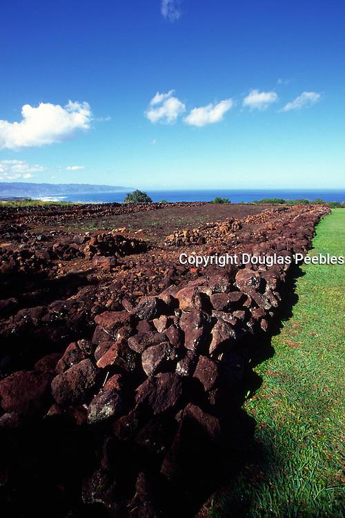 Pu'umahuka Heiau, Kohala, Island of Hawaii, USA<br />