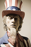 Head and shoulders portrait of Uncle Sam