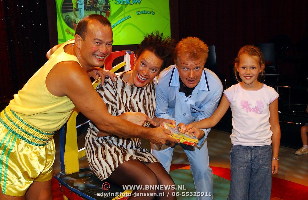 Presentatie DVD Grote Meneer kaktus Show