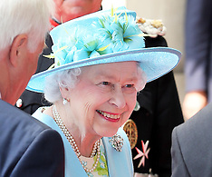 JUNE 07 2013 The Queen opens the new BBC Broadcasting House